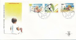Aruba 1987 FDC Kinderzegels E 12
