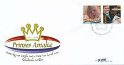 Nederlandse Antillen 2004 FDC Geboorte Prinses Amalia. E 355