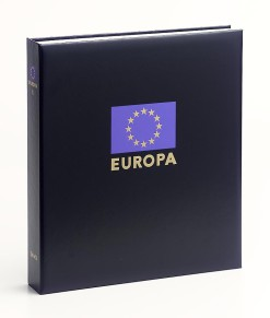 Luxe band postzegelalbum  Europa VII