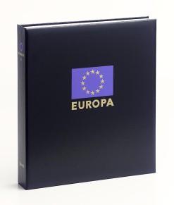Luxe band postzegelalbum  Europa VIII