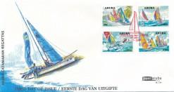 Aruba 2007 FDC Catamaran Regatta E 134