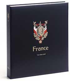 Luxe band postzegelalbum  Frankrijk Rode kruis I