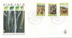 Aruba 1988 FDC Aloe Vera E 13