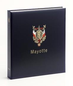 Luxe band postzegelalbum  Mayotte I