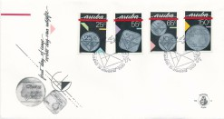 Aruba 1988 FDC Muntzegels E 14