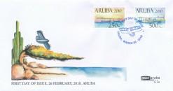 Aruba 2010 FDC Historische vliegtuigen E 152
