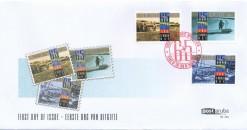 Aruba 2010 FDC 65 jaar einde van de 2e wereldoorlog E 154