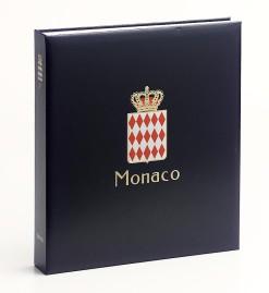 Luxe band postzegelalbum  Monaco I Albert II