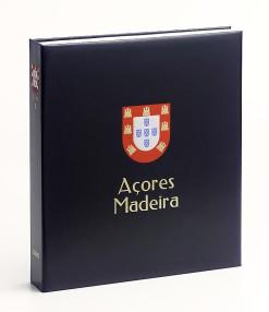 Luxe band postzegelalbum  Azoren/Madeira IV
