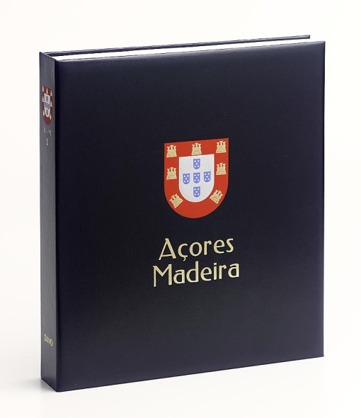 Luxe band postzegelalbum  Azoren/Madeira IV 1