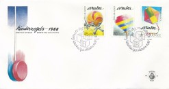 Aruba 1988 FDC Kinderzegels E 18