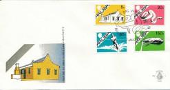 Aruba 1986 FDC Standaardserie E 1