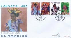 Sint Maarten 2012 FDC Carnaval E 10