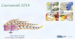 Aruba 2014 FDC Carnaval E 194