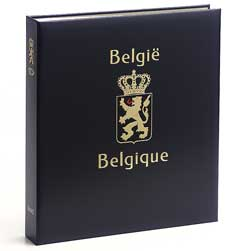 Luxe band postzegelalbum  Belgie Cartes souvenir kaarten