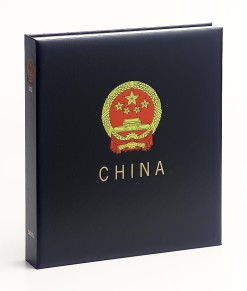 Luxe band postzegelalbum  China IV