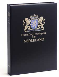 Luxe album FDC Nederland IX