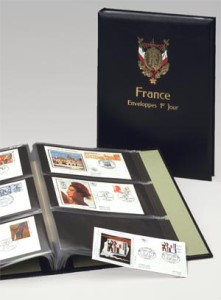 Luxe album FDC Frankrijk