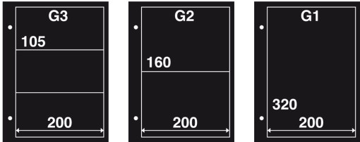 Aanvulling FDC G1 zwart (per 10) 1