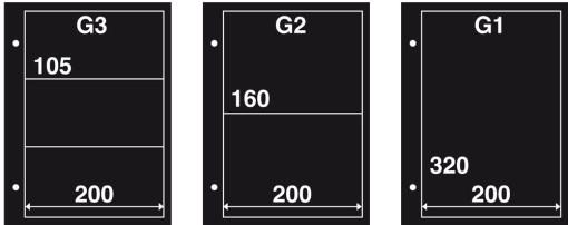 Aanvulling FDC G2 zwart (per 10) 1