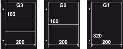 Aanvulling FDC G3 zwart (per 10)