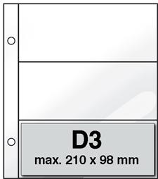 Mappen D3 (per 10)