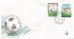Aruba 1990 FDC Wereldkampioenschap voetbal E 27