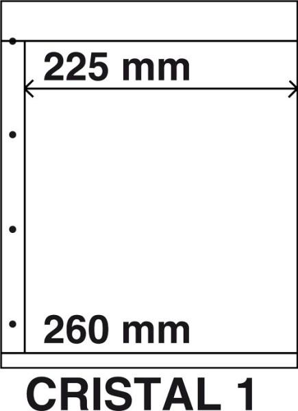 Kosmos insteekbladen Cristal 1 (per 5)  1