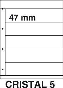 Kosmos insteekbladen Cristal 5 (per 5)