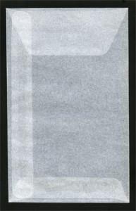 Pergamijn enveloppen klein (105mm x 65mm) per 1000