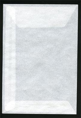 Pergamijn enveloppen groot (125mm x 85mm) per 1000 1