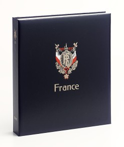 Luxe band postzegelalbum  Frankrijk III