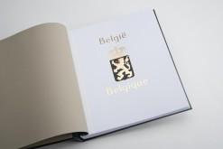 Luxe titelvel Belgie (per 1)