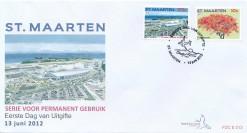 Sint Maarten 2012 FDC Frankeerzegels E 13