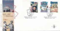 Aruba 1992 FDC Ontdekking van Amerika E 40