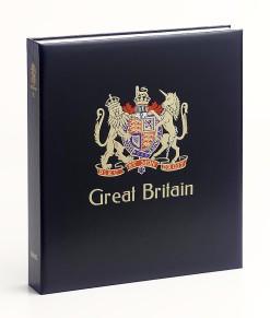 Luxe band postzegelalbum  Gr.Britannie V