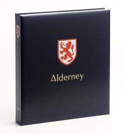 Luxe band postzegelalbum  Alderney I