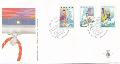 Aruba 1993 FDC Zeilen E 46