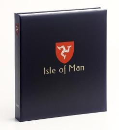 Luxe band postzegelalbum  Isle of Man I