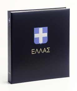 Luxe band postzegelalbum  Griekenland III