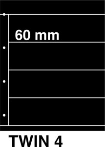 Kosmos insteekbladen TWIN 4 (per 5)