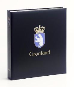 Davo Luxe postzegelalbum Groenland II 2000-2014