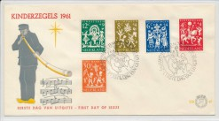 Nederland 1961 FDC Kind onbeschreven E49