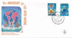Aruba 1995 FDC 50 jaar Verenigde Naties E 56