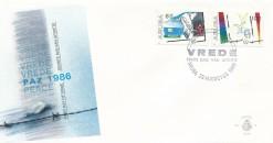 Aruba 1986 FDC Internationaal jaar van de vrede E 5