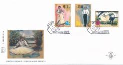 Aruba 1996 FDC America-zegels  UPAEP, Natonale klederdracht E 62
