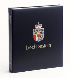 Luxe band postzegelalbum  Liechtenstein I