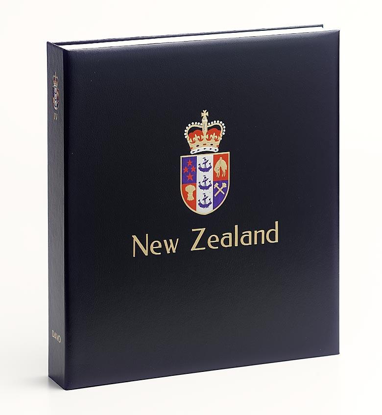 Davo Luxe postzegelalbum Nieuw Zeeland VI 2010-2014