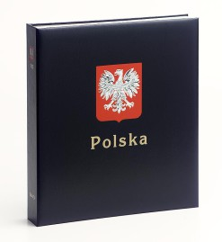 Luxe band postzegelalbum  Polen III