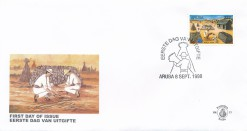 Aruba 1998 FDC Wereldzegel E 77